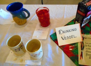 4 entries of hand made medieval style drinking vessels